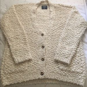 Abercrombie and Fitch Boucle Cardigan